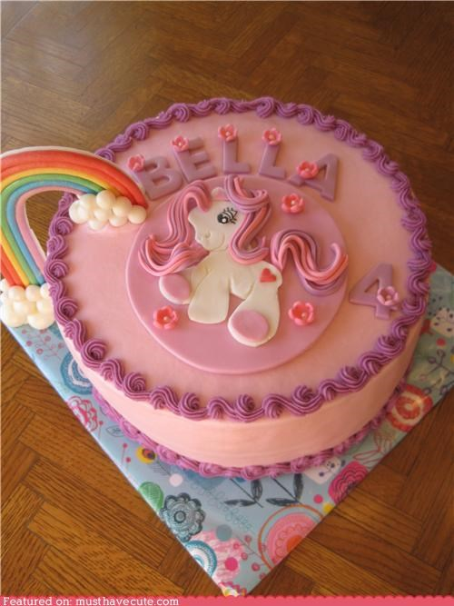 birthday cake epicute my little pony rainbow - 4920531200