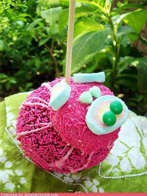 cramel apple epicute pig pink sprinkles stick - 4920537344
