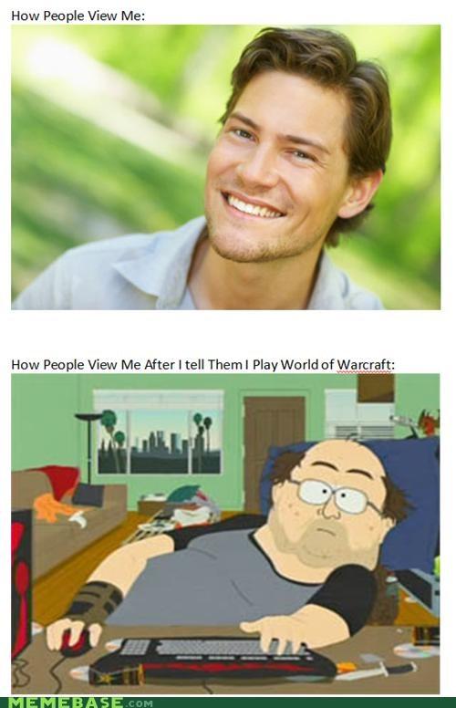 cute Memes nerd South Park view me world of warcraft - 4920577024