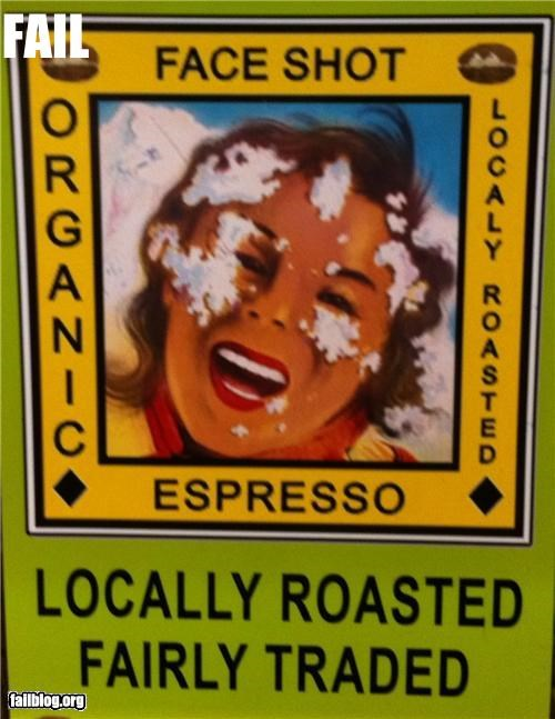 coffee facial failboat innuendo Professional At Work signs - 4920640256