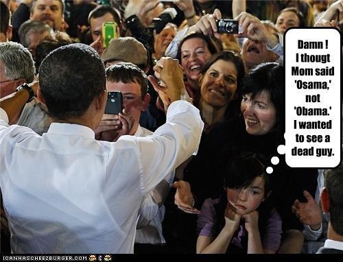 barack obama Osama Bin Laden political pictures - 4921045504