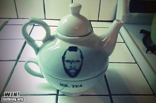 mr t,puns,tea pot