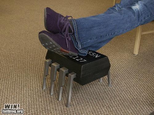awesome DIY footstool furniture nerdgasm - 4921219072