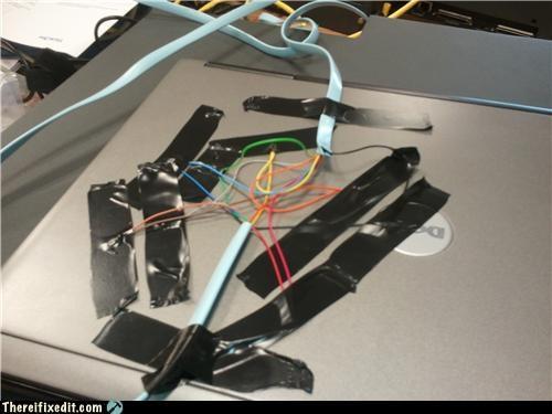 cables computer repair laptop tape - 4921334784