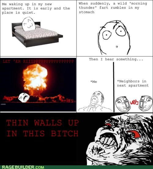 apartment,fart,Rage Comics,walls