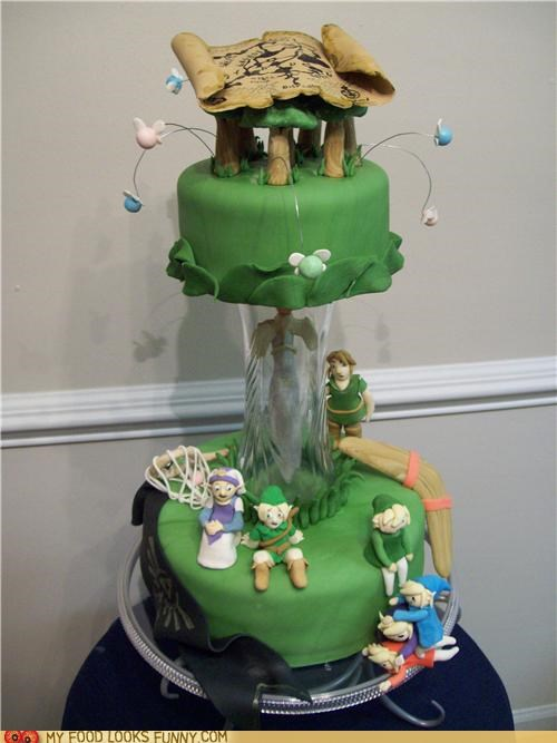 cake characters fondant legend of zelda map video game zelda - 4921461760