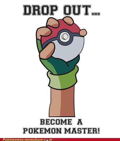 drop out master pokeball school - 4921604352