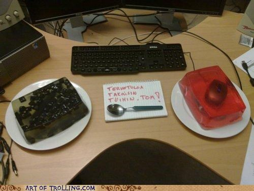 IRL,Jello,keyboard,mouse,Office