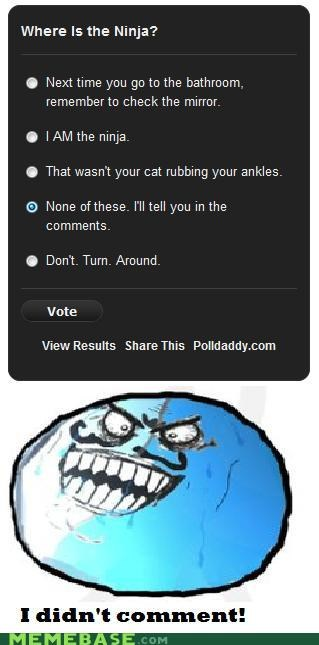 blueberry comments i lied ninja polls Rage Comics - 4922125056