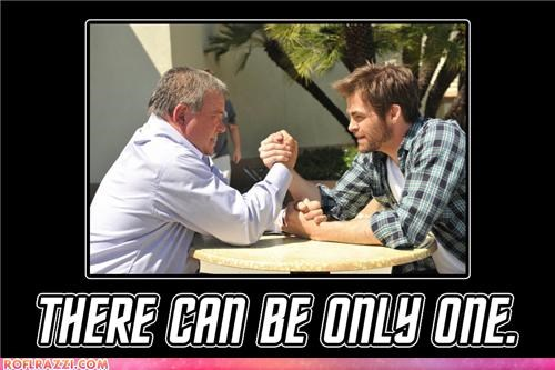 actor celeb chris pine funny William Shatner - 4922259200