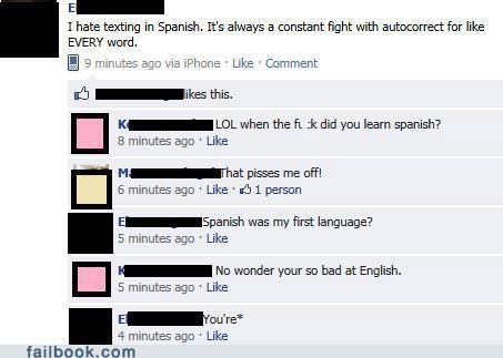 language oh snap spanish spelling - 4922274816
