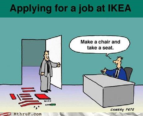 comic ikea interview skills