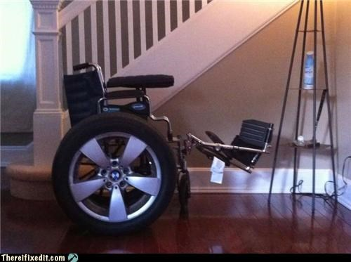 bmw car wheel wheelchair - 4922417152