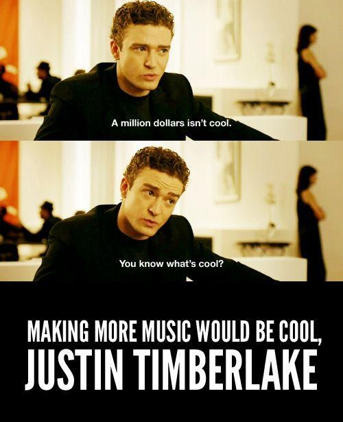 Justin Timberlake,life imitates art,myspace,specific media