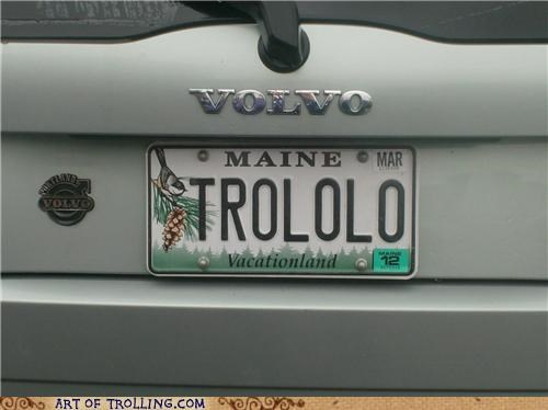 IRL license plate maine win - 4922549248