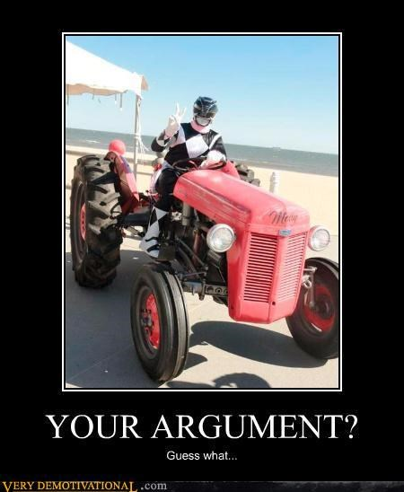 hilarious Invalid Argument power rangers tractor - 4922967296