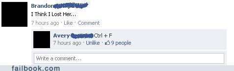 ctrl + f,relationships,funny,dating,breakups