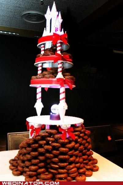 cake tower donuts - 4923518464