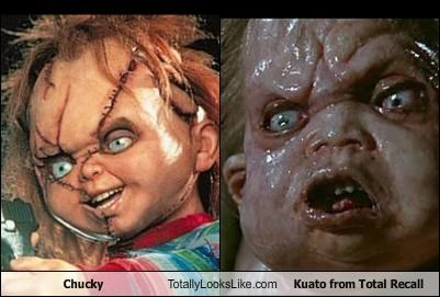 childs play,Chucky,evil,movies,total recall,ugly