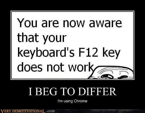 chrome computers f12 hilarious keyboard troll - 4923800064