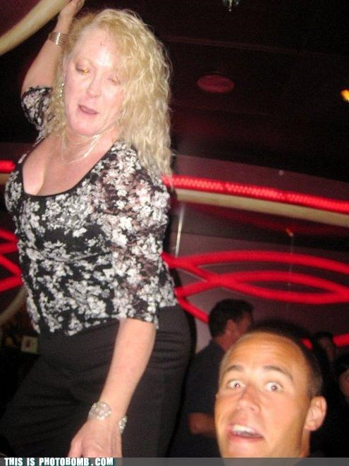 Tranny Stripper Photobomb
