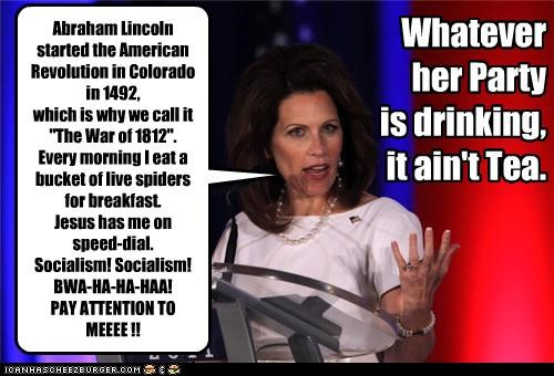 Michele Bachmann political pictures tea party