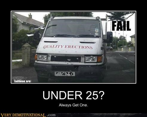 erections Pure Awesome under 25 van wtf