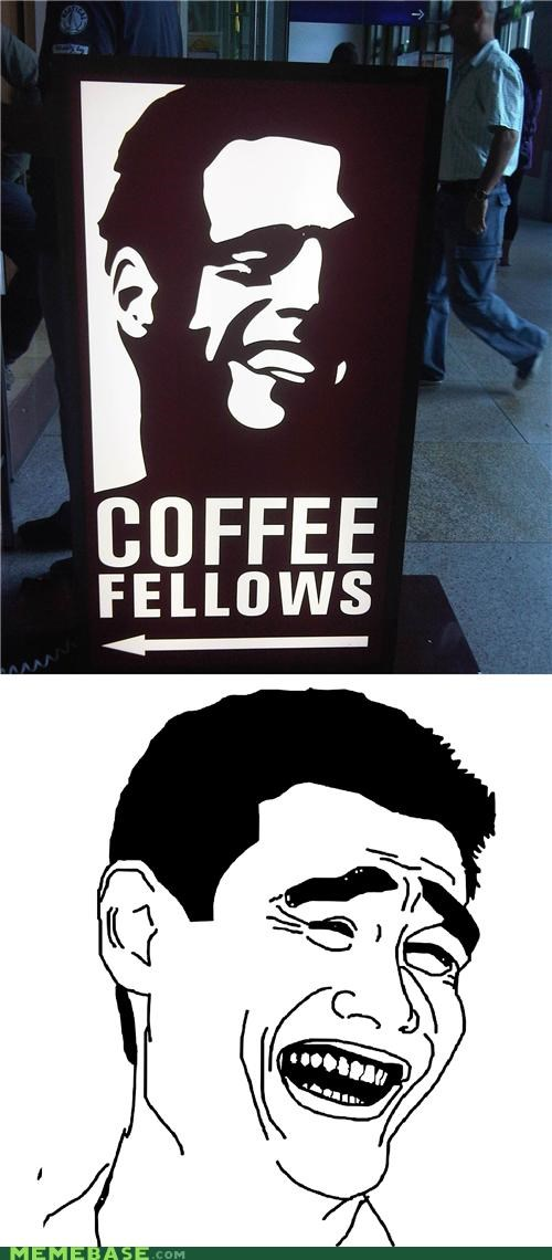 coffee fellows Germany IRL lol Memes ya rite