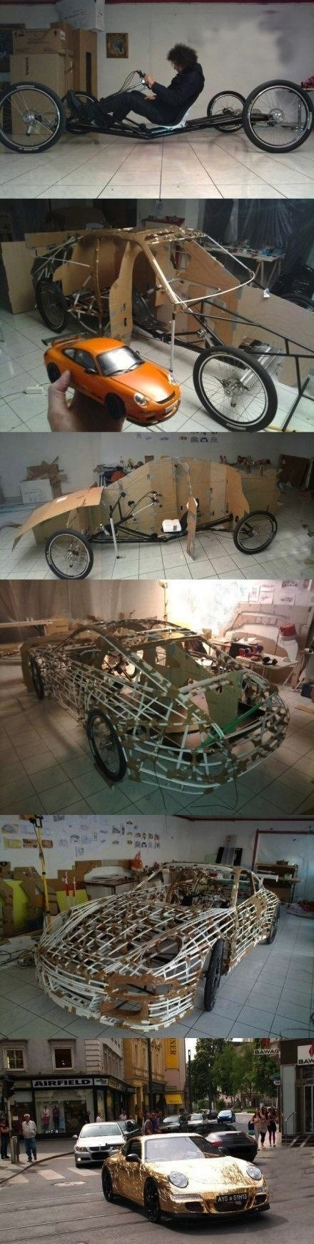 awesome bike car IRL porsche - 4924476672