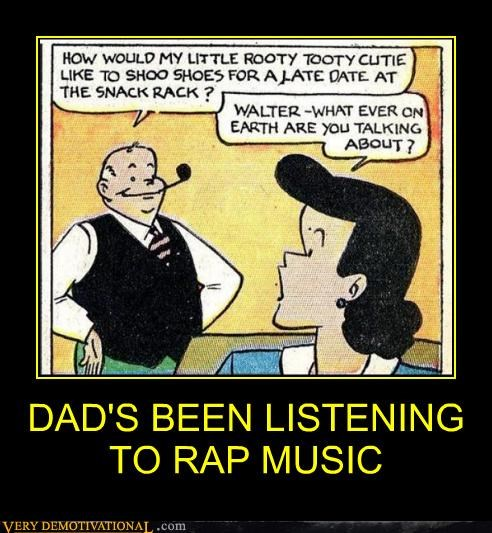 comics dad hilarious rap music - 4924694784