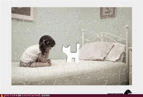 cat girl puzzle wtf - 4924814336
