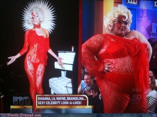lady gaga look a likes television - 4925094656