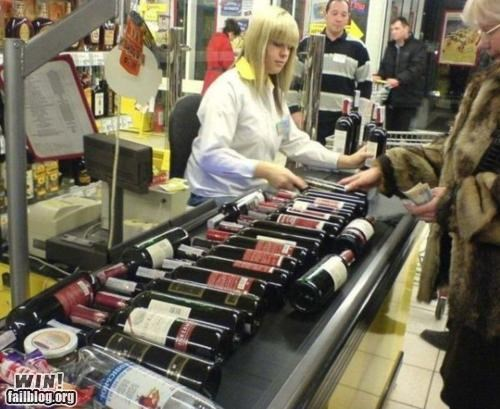 alcohol grocery store holiday stocking up wine - 4925118208
