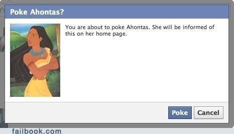 I see what you did there pocahontas poke puns - 4925273344