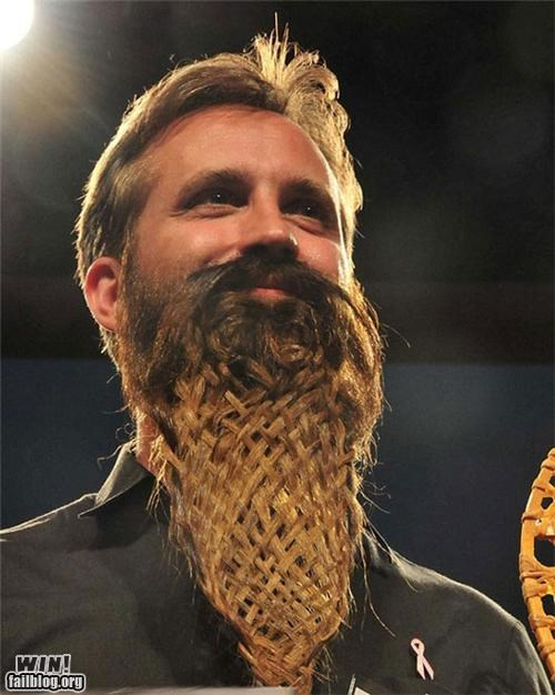 awesome,beards,braiding,facial hair,hair,Hall of Fame