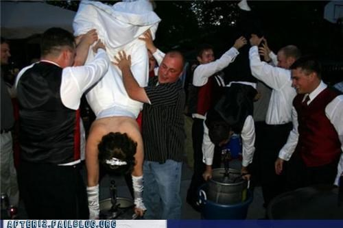 bride keg kegstand wedding - 4925709312