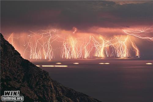 Hall of Fame lightning mother nature ftw sky weather - 4925720320