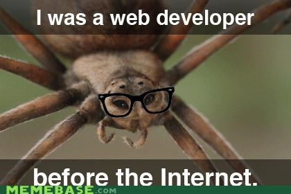 developer,hipster-disney-friends,internet,spider,webs