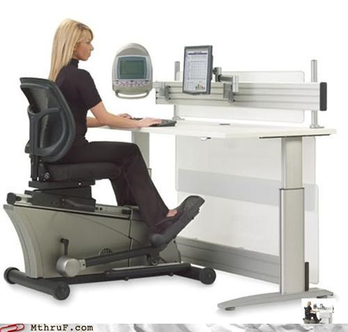 chair elliptical exercise office swag sitting - 4925975552