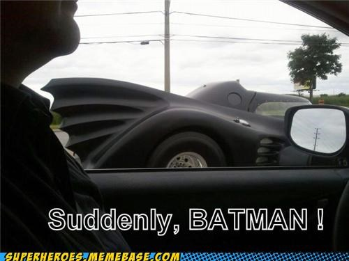 batman batmobile Random Heroics suddenly - 4926046464