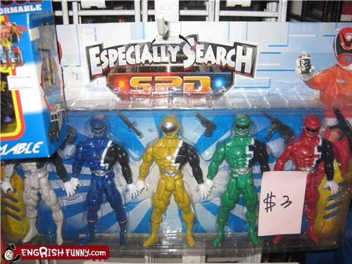 action figures power rangers toys