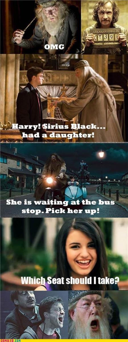 deathly hallows Harry Potter Rebecca Black Sirius - 4926199296