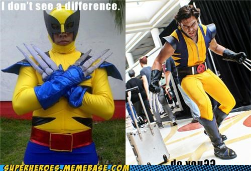 costume ridiculous Super Costume wolverine - 4926314496