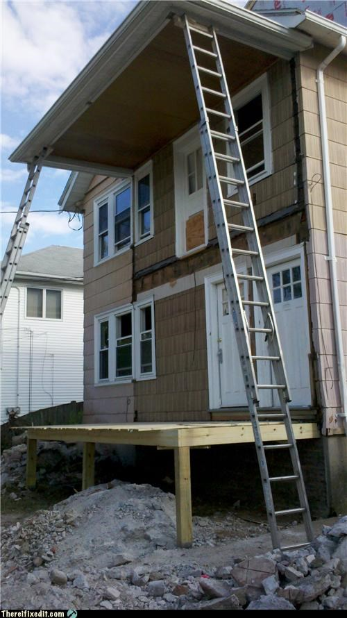 dual use,ladder,Professional At Work