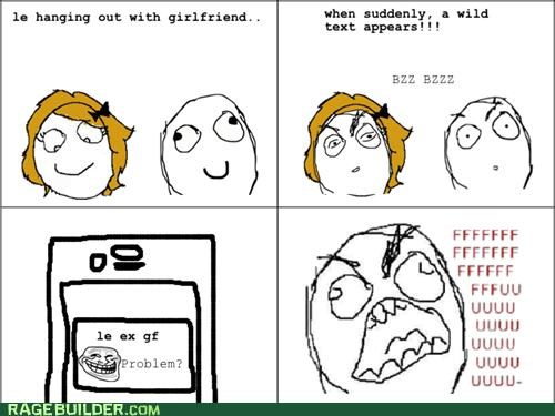 ex fu guy girlfriend Rage Comics text - 4926675968