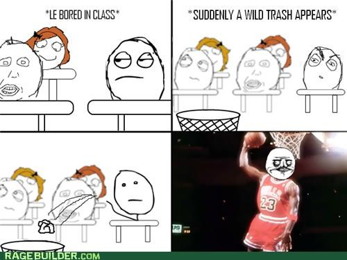 basket michael jordan Rage Comics trash win - 4926677248