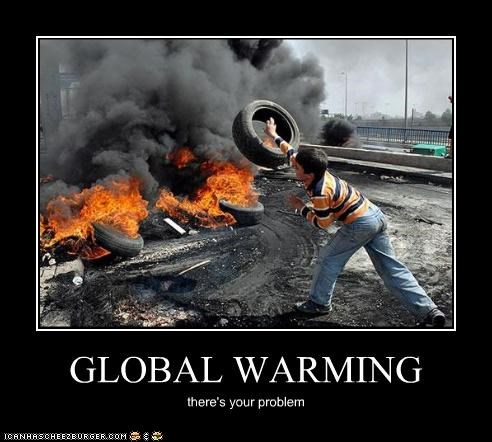 global warming,political pictures