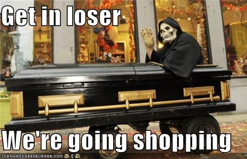 casket,Death,hot topic,shopping,weird kid