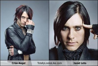 actors,Criss Angel,jared leto,magician,musicians