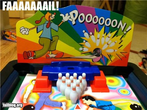bowling game innuendo toys - 4927639296